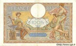 100 Francs LUC OLIVIER MERSON type modifié FRANCE  1938 F.25.20 TTB