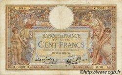 100 Francs LUC OLIVIER MERSON type modifié FRANCE  1938 F.25.24 TB