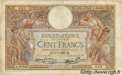 100 Francs LUC OLIVIER MERSON type modifié FRANCE  1938 F.25.28 TB
