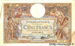 100 Francs LUC OLIVIER MERSON type modifié FRANCE  1938 F.25.29 TB+