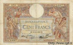 100 Francs LUC OLIVIER MERSON type modifié FRANCE  1938 F.25.31 TB
