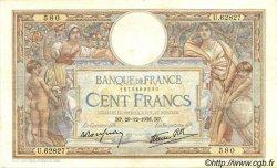 100 Francs LUC OLIVIER MERSON type modifié FRANCE  1938 F.25.37 TTB+