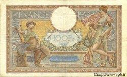 100 Francs LUC OLIVIER MERSON type modifié FRANCE  1939 F.25.39 TTB