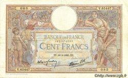 100 Francs LUC OLIVIER MERSON type modifié FRANCE  1939 F.25.44 TB+