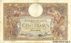 100 Francs LUC OLIVIER MERSON type modifié FRANCE  1939 F.25.45 TB+