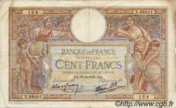 100 Francs LUC OLIVIER MERSON type modifié FRANCE  1939 F.25.46 TB+