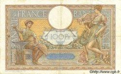 100 Francs LUC OLIVIER MERSON type modifié FRANCE  1939 F.25.46 pr.TTB