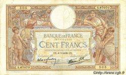 100 Francs LUC OLIVIER MERSON type modifié FRANCE  1939 F.25.48