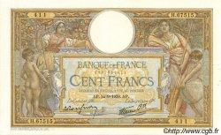 100 Francs LUC OLIVIER MERSON type modifié FRANCE  1939 F.25.49 SUP+