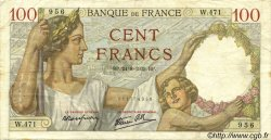 100 Francs SULLY FRANCE  1939 F.26.05 TB+