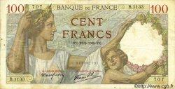 100 Francs SULLY FRANCE  1939 F.26.07 TB+