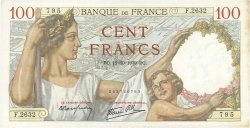 100 Francs SULLY FRANCE  1939 F.26.10 SPL