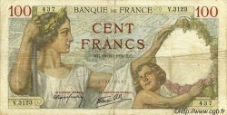 100 Francs SULLY FRANCE  1939 F.26.11 TB
