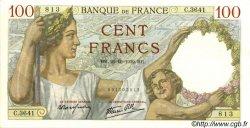 100 Francs SULLY FRANCE  1939 F.26.12 SPL+