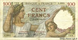100 Francs SULLY FRANCE  1939 F.26.13 pr.TTB