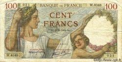 100 Francs SULLY FRANCE  1939 F.26.14 TB