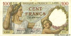 100 Francs SULLY FRANCE  1939 F.26.16 SUP