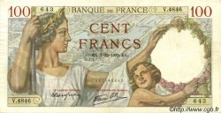 100 Francs SULLY FRANCE  1939 F.26.17 SUP