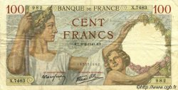 100 Francs SULLY FRANCE  1940 F.26.22 TTB