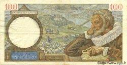 100 Francs SULLY FRANCE  1940 F.26.23 TTB