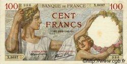 100 Francs SULLY FRANCE  1940 F.26.25 pr.SUP
