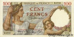 100 Francs SULLY FRANCE  1940 F.26.25 SUP+