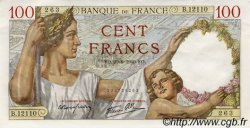 100 Francs SULLY FRANCE  1940 F.26.32 UNC