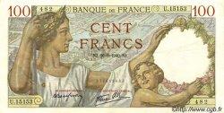 100 Francs SULLY FRANCE  1940 F.26.38 TTB