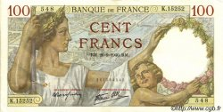 100 Francs SULLY FRANCE  1940 F.26.38 pr.SUP