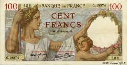100 Francs SULLY FRANCE  1941 F.26.47 SUP+