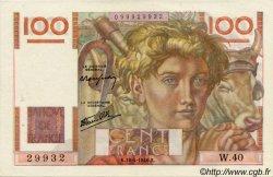100 Francs JEUNE PAYSAN FRANCE  1946 F.28.03 pr.SPL