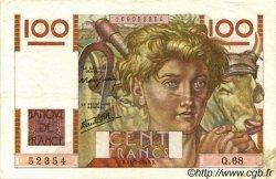 100 Francs JEUNE PAYSAN FRANCE  1946 F.28.06 TTB à SUP