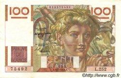 100 Francs JEUNE PAYSAN FRANCE  1948 F.28.19 pr.SPL