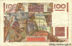 100 Francs JEUNE PAYSAN FRANCE  1948 F.28.20 TTB