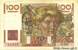 100 Francs JEUNE PAYSAN FRANCE  1948 F.28.20