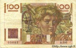 100 Francs JEUNE PAYSAN FRANCE  1949 F.28.22 TB