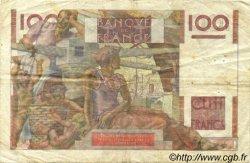 100 Francs JEUNE PAYSAN FRANCE  1950 F.28.27 TB+