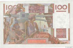 100 Francs JEUNE PAYSAN FRANCE  1952 F.28.31 SUP+