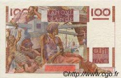 100 Francs JEUNE PAYSAN FRANCE  1952 F.28.31 SPL+