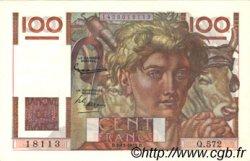 100 Francs JEUNE PAYSAN FRANCE  1953 F.28.40 SPL