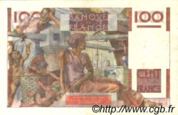 100 Francs JEUNE PAYSAN filigrane inversé FRANCE  1954 F.28bis.05 SUP