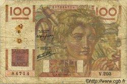 100 Francs JEUNE PAYSAN Favre-Gilly FRANCE  1947 F.28ter.01 pr.B