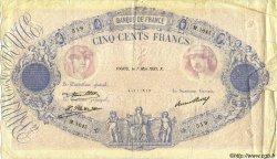 500 Francs BLEU ET ROSE FRANCE  1931 F.30.34 TB