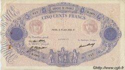 500 Francs BLEU ET ROSE FRANCE  1932 F.30.35 TB+