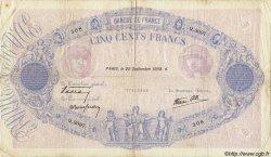 500 Francs BLEU ET ROSE modifié FRANCE  1938 F.31.20 TB à TTB