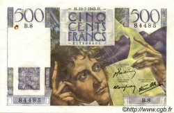 500 Francs CHATEAUBRIAND FRANCE  1945 F.34.01 SUP
