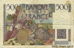 500 Francs CHATEAUBRIAND FRANCE  1945 F.34.01 TB