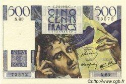 500 Francs CHATEAUBRIAND FRANCE  1946 F.34.04 TTB