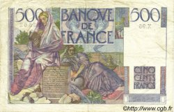 500 Francs CHATEAUBRIAND FRANCE  1946 F.34.06