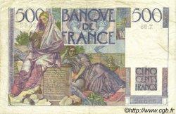 500 Francs CHATEAUBRIAND FRANCE  1946 F.34.06 TTB